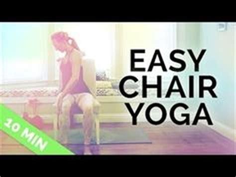 gentle chair yoga routine for seniors yoga chair yoga