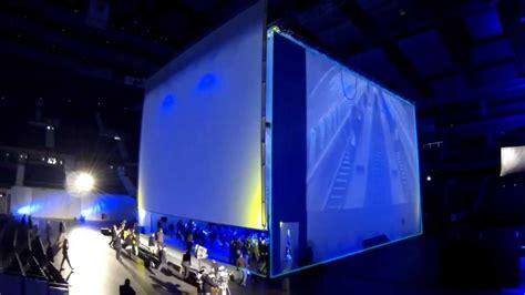 barco projectors facilitate immersive cube concept