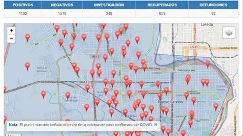 5 colonias de Nuevo Laredo con más contagios de Covid-19 ...