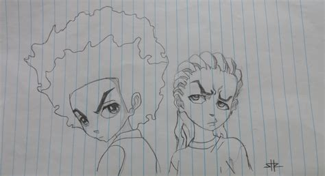 Riley From Boondocks Coloring Pages Coloring Pages