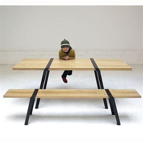 banc de cuisine en bois avec dossier banc de cuisine en bois inside75 atlantique table repas 4