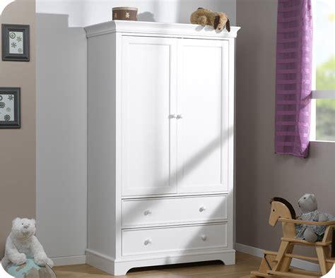 commode et armoire bebe armoire b 233 b 233 mel blanche 2 portes maison
