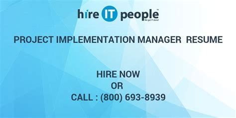 asap full form in sap project implementation manager resume hire it people