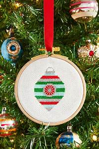 Cross, Stitch, Pattern, U2013, Christmas, Ornament, U2013, Needle, Work