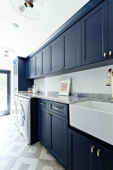 blue cabinets yay  nay blue laundry rooms white