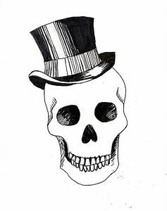 Skull top hat by Rachhhh566 on DeviantArt