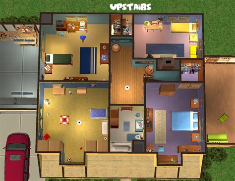 home blueprints free mod the sims 31 spooner