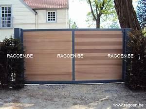 Lapeyre Portail Bois : portail bois ~ Premium-room.com Idées de Décoration