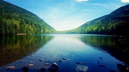 Maine Acadia Park National Pond Jordan 4k