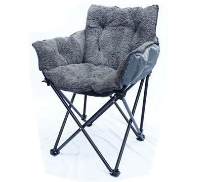 College Cushion Chair  Ultra Plush Dark Gray