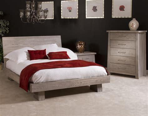 ligna zen  piece  profile bedroom set  driftwood