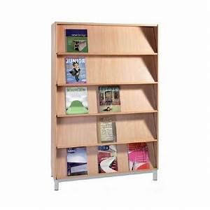 Presentoir Livre Enfant : rangement scolaire meuble pr sentoir tablettes inclin es ~ Teatrodelosmanantiales.com Idées de Décoration