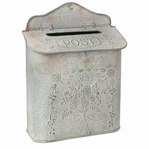 Boite Aux Lettres Vintage : boite aux lettres m tal vintage ~ Teatrodelosmanantiales.com Idées de Décoration