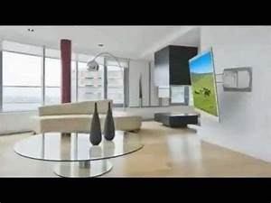 Schwenkbare Tv Halterung : tv wandhalterungen peerless slimline youtube ~ A.2002-acura-tl-radio.info Haus und Dekorationen