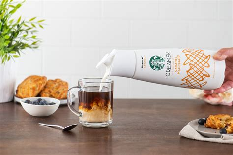 Try these other starbucks ® creamers flavors white chocolate flavored creamer Starbucks launches its own coffee creamer in 3 popular flavors inspired by their most popular ...
