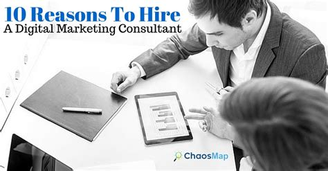 digital marketing consultant 10 reasons to hire an outside digital marketing consultant