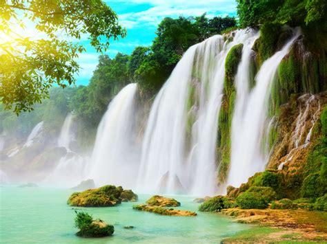 Ba Bể Lake & Ban Gioc Waterfall North Hanoi Desktop ...