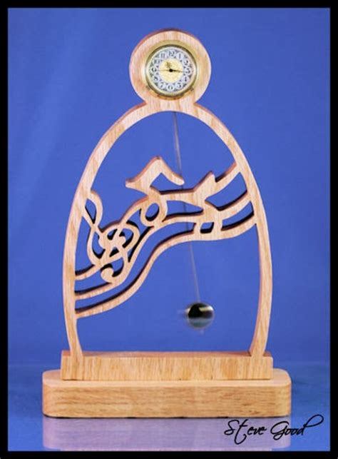 scrollsaw workshop  clock  pendulum scroll