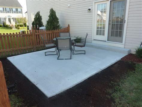 patio cost backyard concrete patio cost home design ideas