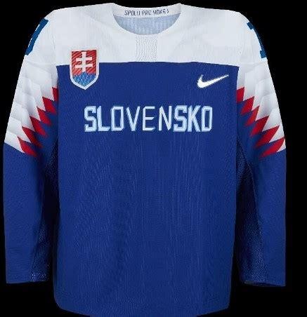 Hokej, jj, 68, slovensko, fanoušek. FOTO: Všechny dresy pro ZOH jsou zveřejněny | iSport365.cz