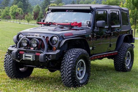 orange jeep rubicon for sale 2012 custom jeep wrangler rubicon unlimited with 5 7liter hemi