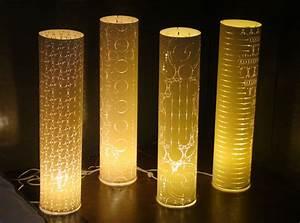 Laser-Cut Paper Lamps confers a neoclassic gaze to your place