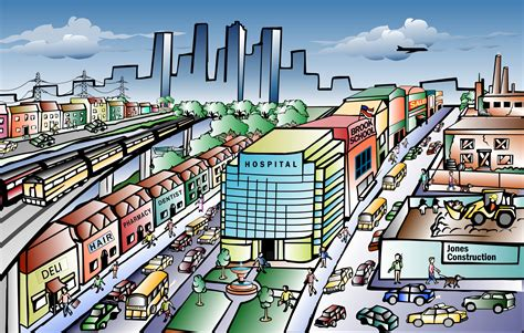 Clipart City The City Clipart Clipground