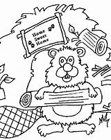 Beaver Colouring Dam Pages Coloring Drawing Sheets Clipart Printable Canada Scouts Thekidzpage Copyright Clip Cliparts Popular Getdrawings Library sketch template