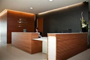 modern corporate reception area - Google Search ...