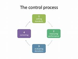 Give Formal Control Process Block Diagram Describe And