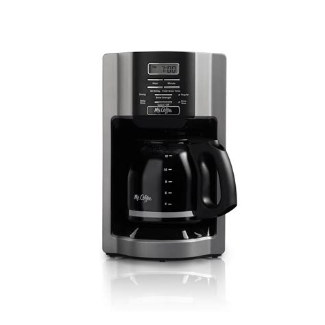 We'll review the issue and make a decision about a partial or a full refund. Mr. Coffee 12-Cup Drip Coffee Maker, Black/Grey - Deal - BrickSeek