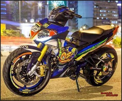 Modifikasi Zr 150cc by Kumpulan Gambar Modifikasi Motor Yamaha Jupiter Mx King 150cc