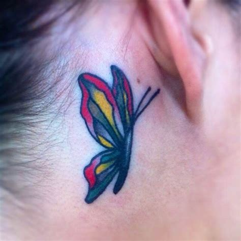 butterfly tattoos  ear