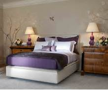 Bedroom Colors Grey Purple by Purple Bedroom Decor Ideas With Grey Wall And White Accent Home Interior An