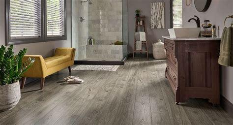 anchor grey oak laminate floor natural wood  mm