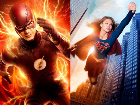 The Flash Is Crossing Over With Supergirl