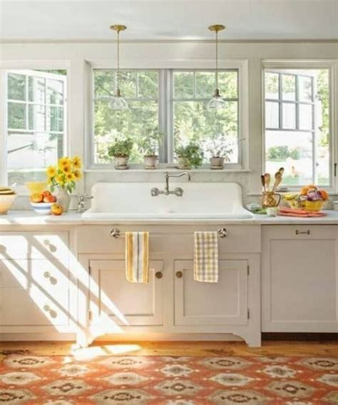 Kitchen Decorating Ideas Photos by 35 Cozy And Chic Farmhouse Kitchen D 233 Cor Ideas Digsdigs