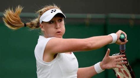 british number  tennis star elena baltacha