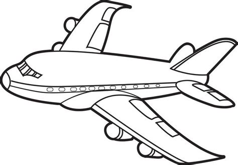 Coloring Airplane by Jet Airplane Coloring Page S 2nd Birthday