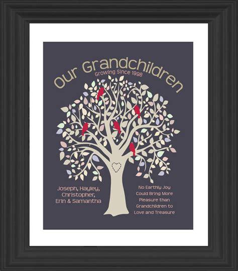 personalized grandparents gift grandma grandpa by