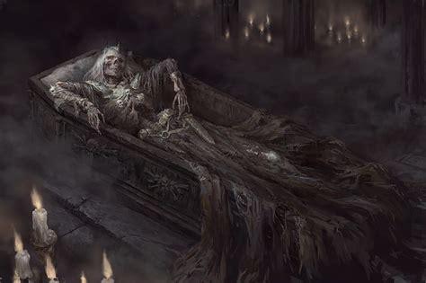 HD wallpaper: dark fantasy, fantasy art, skeleton, artwork ...