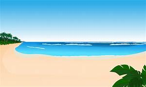 9 Beach Vector Art Images - Summer Beach Clip Art, Beach ...