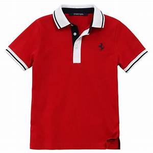 Ferrari Polo Shirt : red polo shirt ferrari for boys ~ Kayakingforconservation.com Haus und Dekorationen