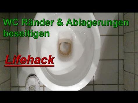 toilette reinigen urinstein toilettenr 228 nder urinstein beseitigen toilette reinigen haushaltstipps wc wieder wei 223