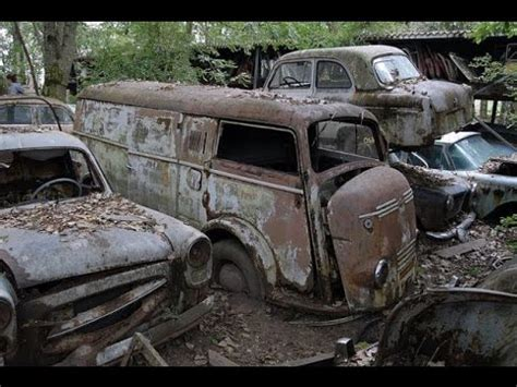 abandoned car forest  army truck youtube