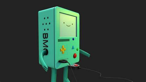 Bmo Adventure Time 3d Model Game Ready .max .obj .tga