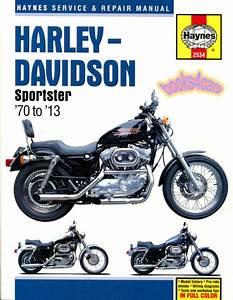 Harley Davidson Sportster Shop Manual Service Repair Book