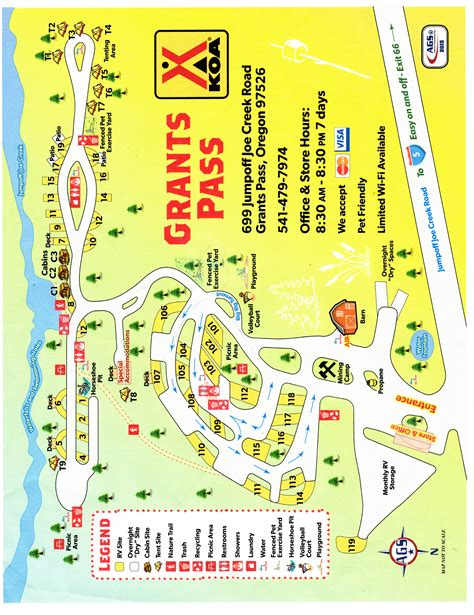 Grants Pass, Oregon Campground  Grants Pass Koa
