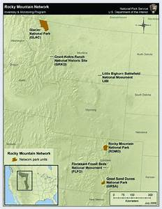 Little Bighorn Battlefield National Monument In Relation To Other Parks