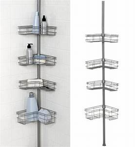 Floor to ceiling shower caddy foregathernet for Floor to ceiling shower caddy